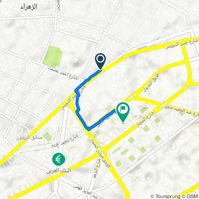 Cairo Governorate, AZ Zahraa WA Masaken Al Helmeyah to Abd El-Rahman El-Refaey, Al Matar