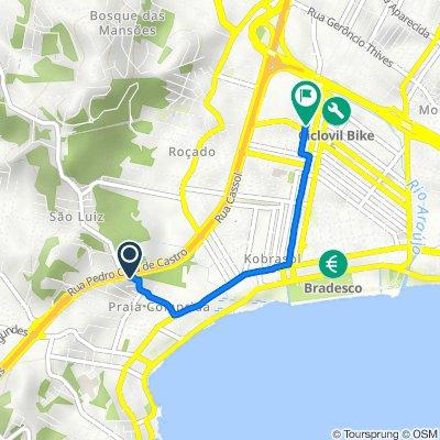 De Rua Sebastião Lentz, 590, São José a Rua Koesa, 231, São José