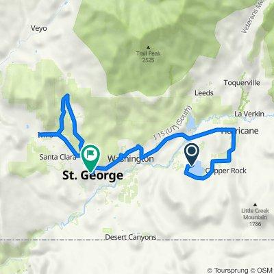 ST. George 70.3 Bike