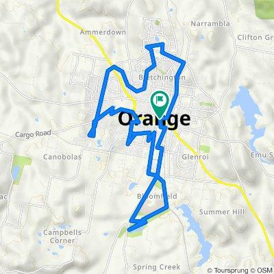 Orange Circuit Bike Trail (Perfect for E-bike)