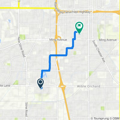 4109 Tretorn Ave, Bakersfield to 1321 Kelly St, Bakersfield