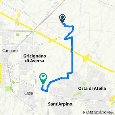 Percorso per Via Cupa Cesa, Succivo