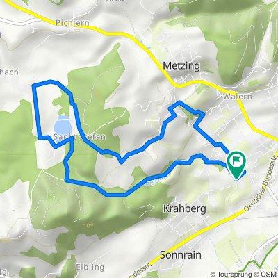 RUN-Berg: FE-Kneippweg-FlatschacherSee-St.Stefan-Waiern-FE