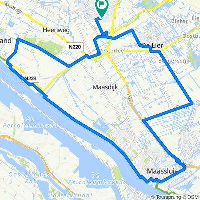 Strigastraat 62, Naaldwijk naar Turresstraat 3, Naaldwijk