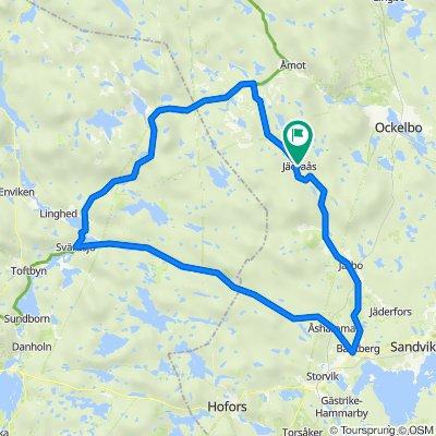 Jädraås - LVG 130 km