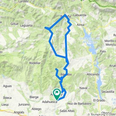 Colungo - Boltaña - Serrablo - Bertoz - Colungo