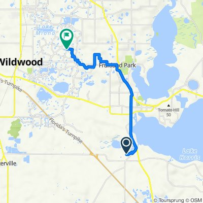 Avenue O, Leesburg to Canal St, The Villages