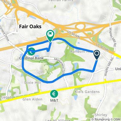 4035–4107 Ridge Top Rd, Fairfax to Summit Heights Way, Fairfax