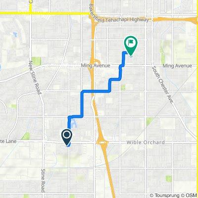 4108 Tretorn Ave, Bakersfield to 1321 Kelly St, Bakersfield