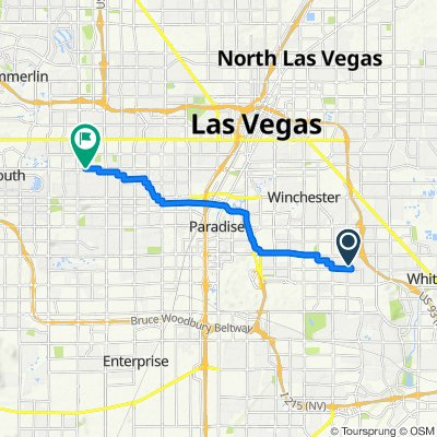 5192 S Sunnywood Dr, Las Vegas to 7510 W Sahara Ave, Las Vegas