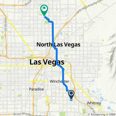 5192 S Sunnywood Dr, Las Vegas to 5135 Camino Al Norte, North Las Vegas