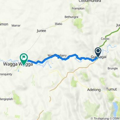 Gundagai to Wagga Wagga