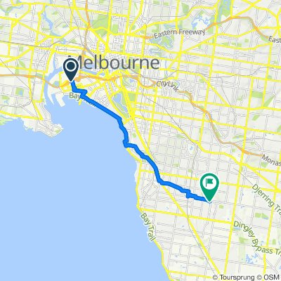 Rocklea Drive 29A, Port Melbourne to Caleb Street 7, Bentleigh East