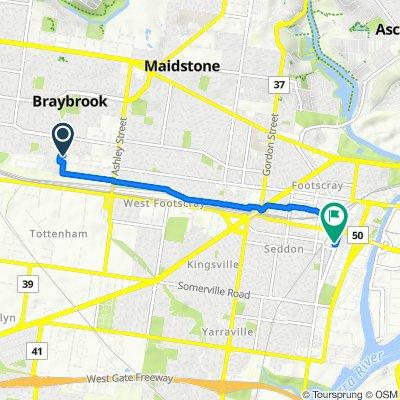 1-9 Windsor Street, Braybrook to 8A Hyde Street, Footscray
