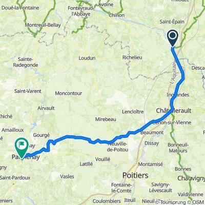 3 - Parthenay - 108 km