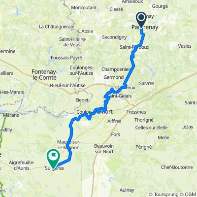 4 - Surgeres - 104 km