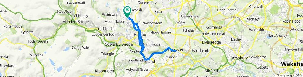 3 Forest Crescent, Halifax to 7 Forest Crescent, Halifax