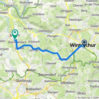 Zeughaus, Winterthur nach Feldstrasse 85, Bülach