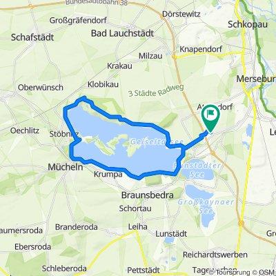 Geusaer Weg 1, Merseburg nach Geusaer Weg 1, Merseburg