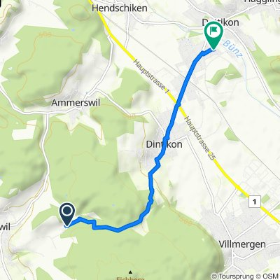 Bergstrasse 3, Egliswil do Hofackerstrasse 7C, Dottikon