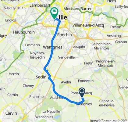 De 18 Rue Nationale, Pont-à-Marcq à 32 Rue Manuel, Lille