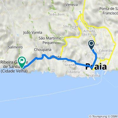De Unnamed Road, Praia a Unnamed Road, Cidade Vehla