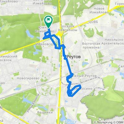Весенние сухие велоездки Южное Измайлово - Реутово - Новокосино с возвратами 16 04 2021