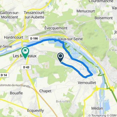 De 23 Allée des Chevreuils, Verneuil-sur-Seine à 18 Rue Aristide Briand, Les Mureaux