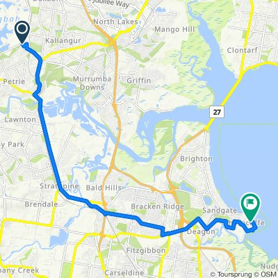 35 Pine Crest Drive, Kurwongbah to 53 Swan Street, Shorncliffe