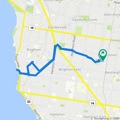 7 Carlton Street, McKinnon to 26B Carlton Street, McKinnon