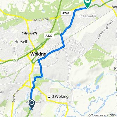 JoJo's Work Route