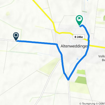 K1263, Sülzetal nach An den Worthen 5, Sülzetal