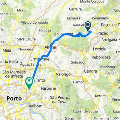 De Rua de São Domingos 265, Seroa a Rua Senhora Campanhã 325, Porto