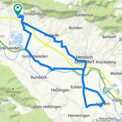 Zum Oberberg 2, Rinteln nach Zum Oberberg 4, Rinteln