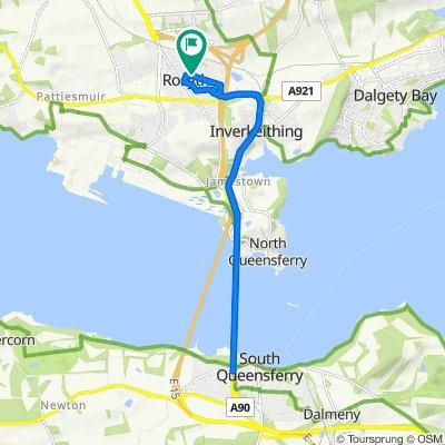 Leslie Road 2, Rosyth to Leslie Road 2, Rosyth