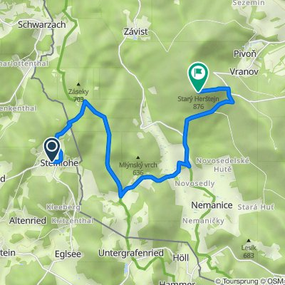 CHA37 22, Tiefenbach nach Unnamed Road
