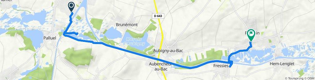 De 31 Rue Jacques Duclos, Arleux à 3 Rue Louis Chantreau, Féchain