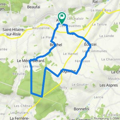 circuit découverte Aube Forêt de Moulins