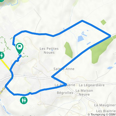 De 17 Rue Jean Monod, Chemillé-Melay à 17 Rue Jean Monod, Chemillé-Melay