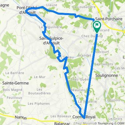 De Rue des Dessays 16, Les Essards à Rue des Dessays 11, Les Essards