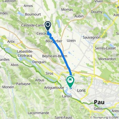 De 34 Route Lamarlère, Viellenave-d'Arthez à 176 Boulevard de l'Europe, Lescar
