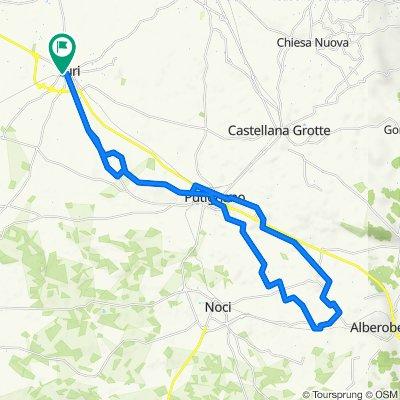 Da Via Francesco Petrarca 15, Turi a Largo Pozzi 1, Turi