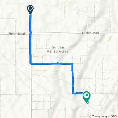 9901–10065 Baldy Mesa Rd, Oak Hills to 8824 Aster Rd, Oak Hills