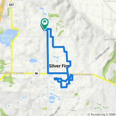 3306 113th St SE, Everett to 3327 113th St SE, Everett