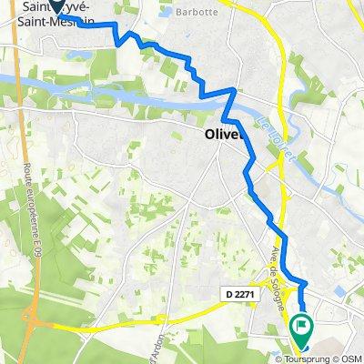 Itinéraire à partir de 31 Avenue Arthur Michel, Saint-Pryvé-Saint-Mesmin