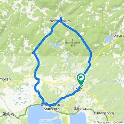Frostavallsvägen 6, Höör to Frostavallsvägen 2, Höör