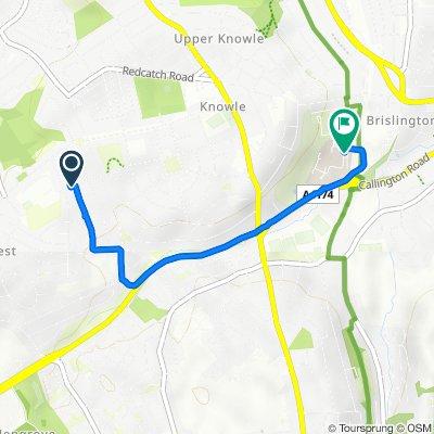 20 Teignmouth Road, Bristol to Matthew Road, Bristol
