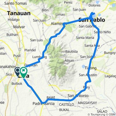 Lipa-Alaminos-San Pablo-Tiaong-Padre Garcia-Lipagod