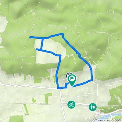 De Rue Numa Gillet 5, Montigny-sur-Loing à Rue Numa Gillet 35B, Montigny-sur-Loing