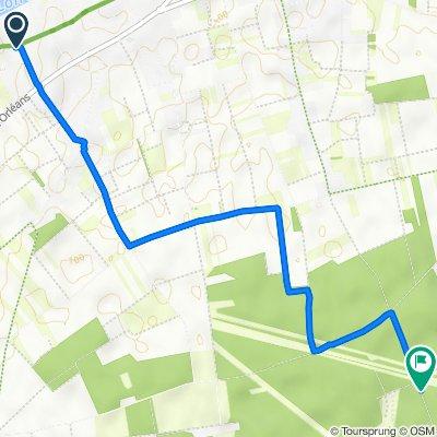 De 25 Rue Voie, Saint-Hilaire-Saint-Mesmin à Chemin du Chêne des Landes, Saint-Hilaire-Saint-Mesmin